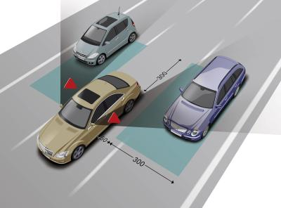 Blind Spot Auto Accidents