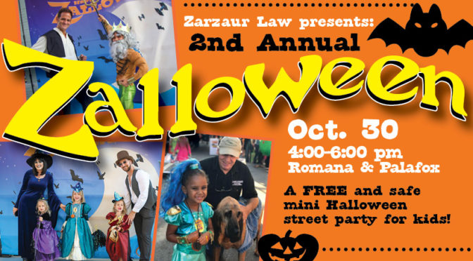 Zarzaur Law, P.A. To Host 2nd Annual FREE Kid's 