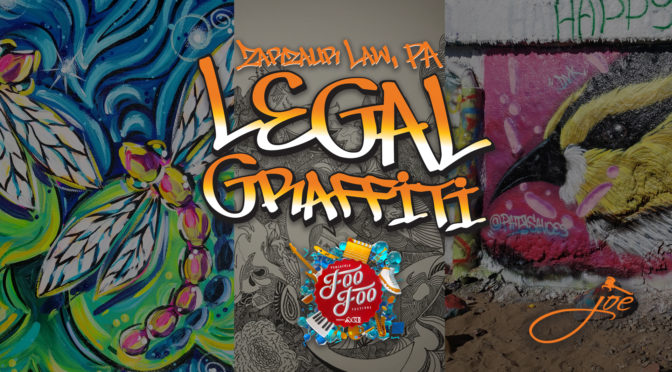"""Legal Graffiti"" Foo Foo Style – Live Painting Event at Zarzaur Law Building to Take Place Nov. 8-10 in Downtown Pensacola"