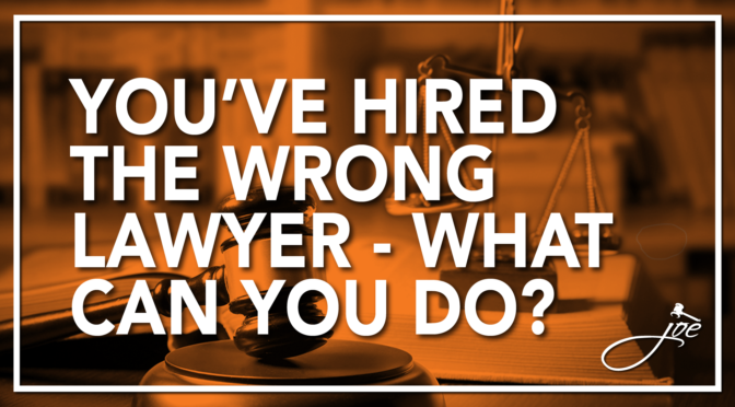 Can You Fire Your Lawyer, Even After Signing a Contract?