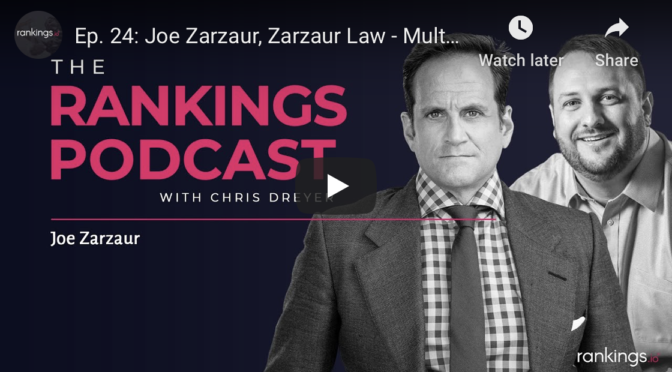 An all go, no quit interview on Rankings.io podcast with Joe Zarzaur.