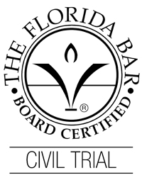 Florida Bar Board Certified Civil Trial Lawyer Badge