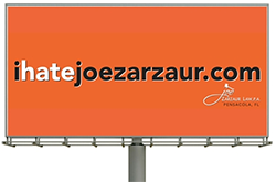 I Hate Joe Zarzaur Billboard